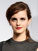 Emma-Watson-Brunette-Tousled-Sexy-Ponytail_-Hairstyle